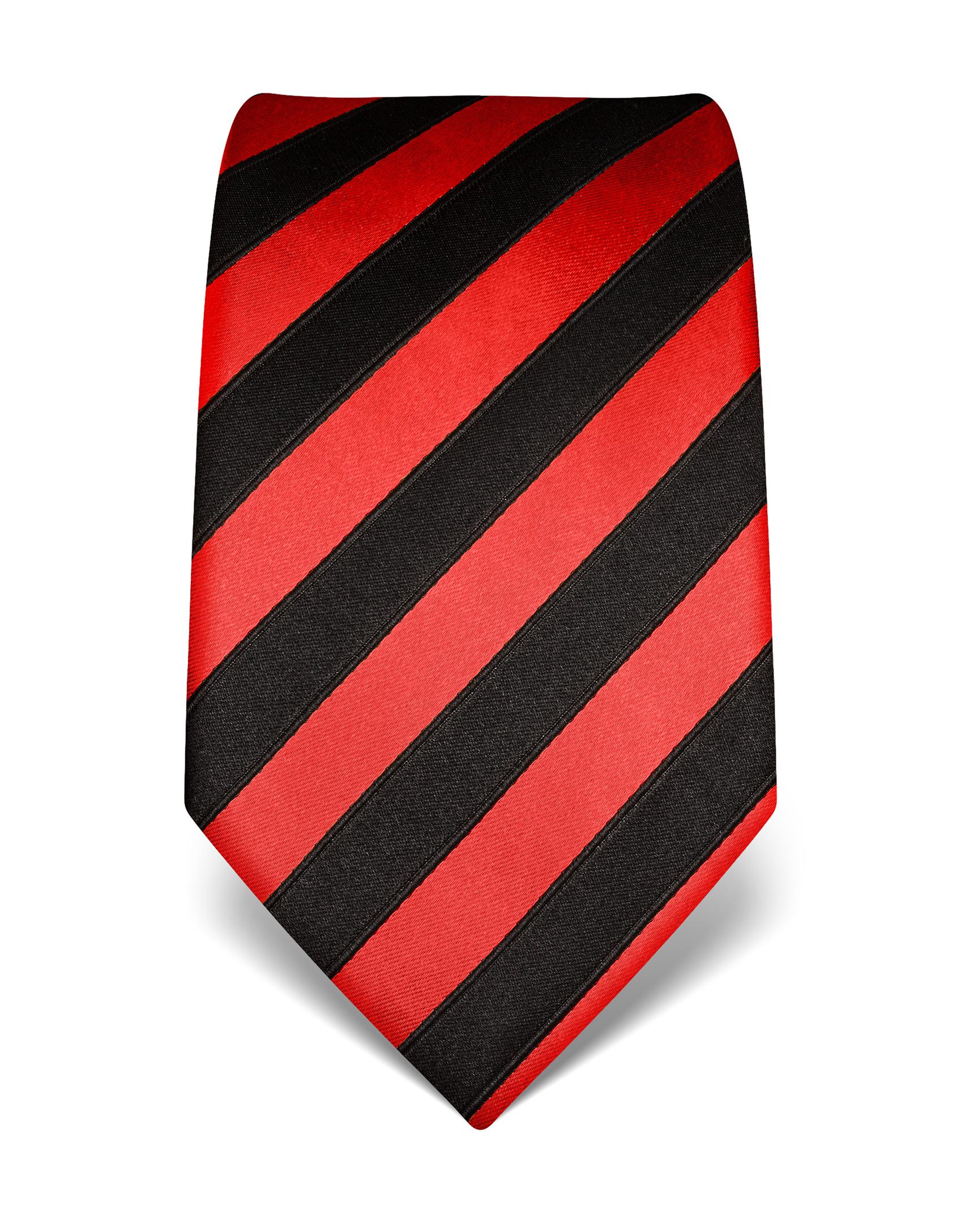 handvern hte krawatte aus seide in rot weiss gestreift. Black Bedroom Furniture Sets. Home Design Ideas