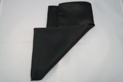 Damentuch bedruckt Polyester Twill, 53x53cm, uni schwarz