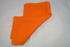 Damentuch bedruckt Seide Chiffon, 25x150cm, uni orange
